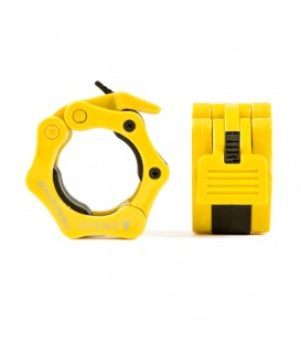 Pro Locker Barbell Collar Clamp - Yellow