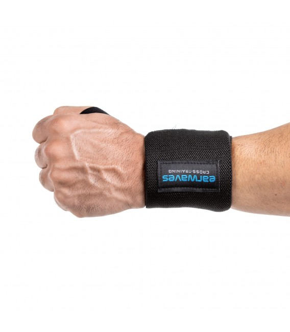 Ultra Strong Wrist Wraps Black