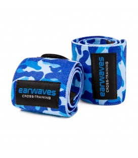 Ultra Strong Wrist Wraps - Military Blue