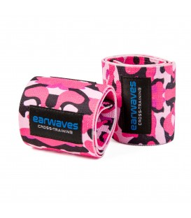 Ultra Strong Wrist Wraps - Military Pink
